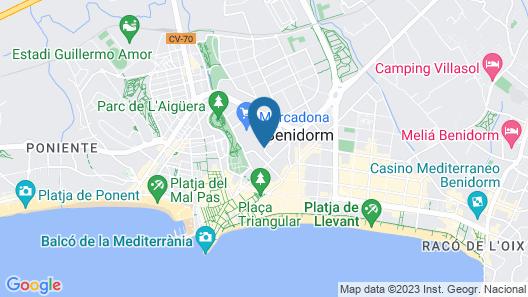 Hotel RH Princesa Map