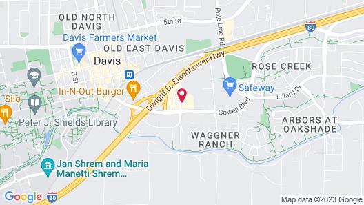 Holiday Inn Express & Suites Davis - University Area, an IHG Hotel Map