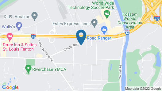 Fairfield Inn St. Louis Fenton Map