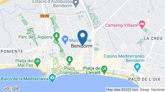 Torre Ipanema Apartamentos Map