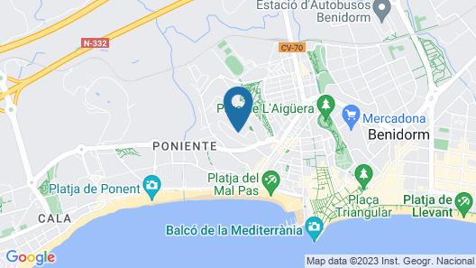 Hotel Cabana Map