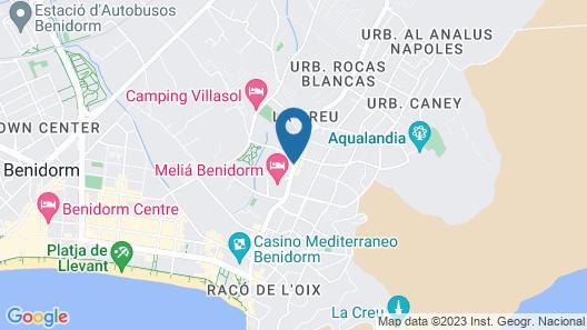 Levante Club Hotel & Spa Map