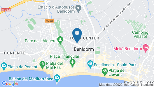 Hotel Joya Map