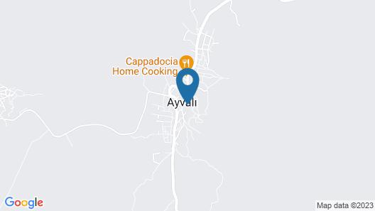 Dilek Tepesi Cave Hotel Map
