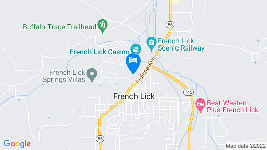 The Villas at French Lick Springs Map