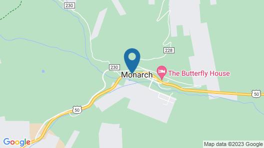 Monarch Mountain Lodge Map