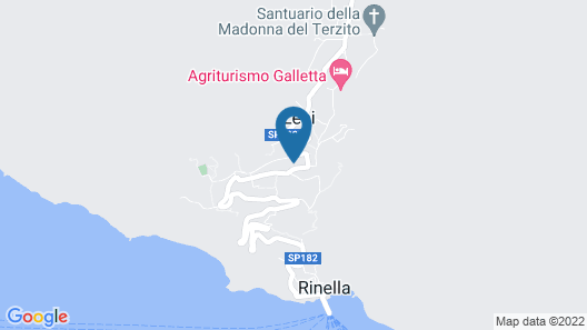 Villa Mariella Pittorino B&B Map