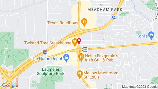 La Quinta Inn & Suites by Wyndham St Louis Route 66 Map
