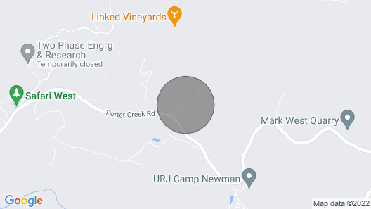 Tentrr Signature Site - Mystic Mountain Redwood Grove Camp Map