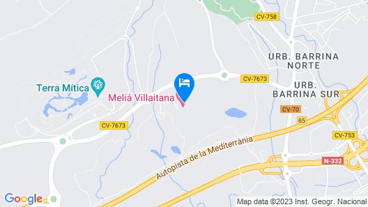 The Level at Melia Villaitana Map