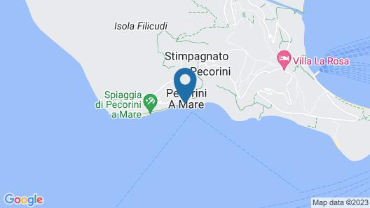 Pensione La Sirena Map