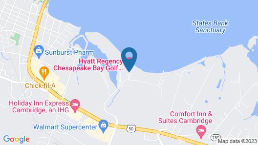 Hyatt Regency Chesapeake Bay Map