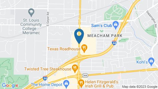 Best Western Kirkwood Inn Map