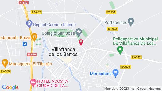 Casa Perin - Hostal Rural Map