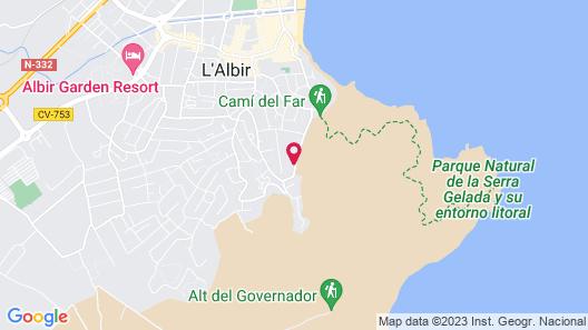 Alfaz' Paradise Club Map