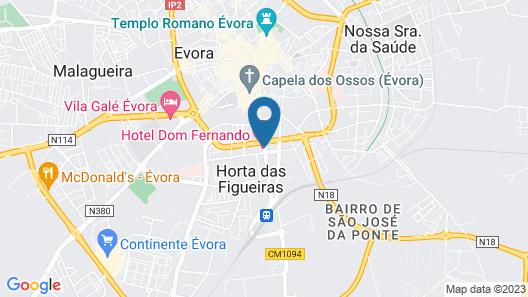 Hotel Dom Fernando Map
