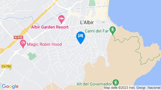 Albir Palace Map