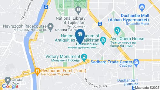 Dior Hotel Map