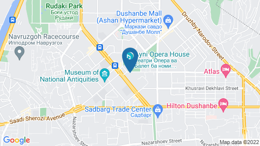 Rohat-Hotel Map