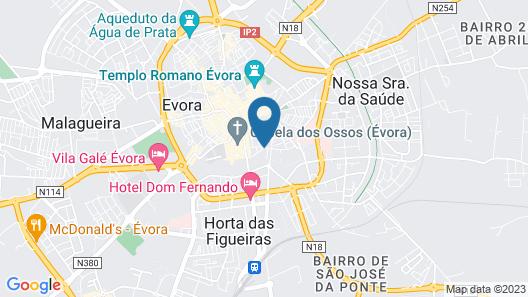 Évora Olive Hotel Map