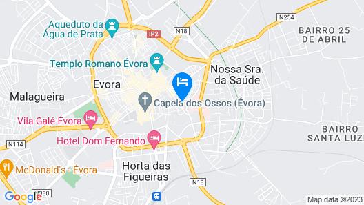 Vitória House Map