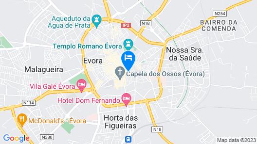 HI Évora – Pousada de Juventude       Map