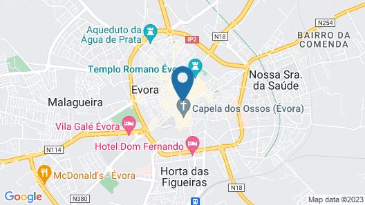 EvoraInn Map