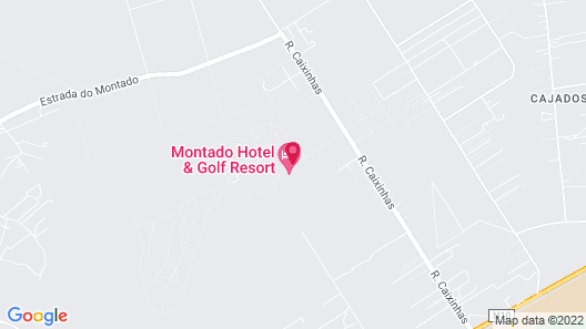 Montado Hotel & Golf Resort Map