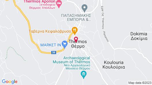 Thermios Apollon Hotel Map