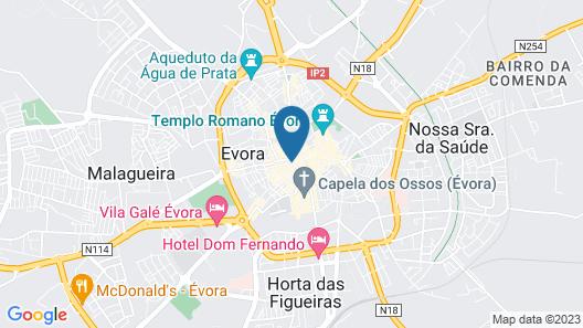 Evora Terrace Hostel Map