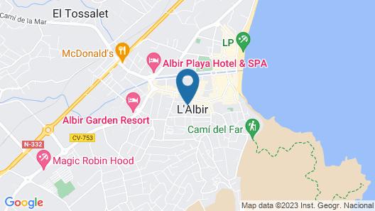 Aparthotel Vidalbir Map