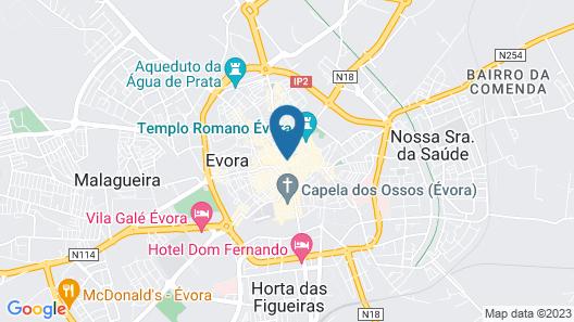 Burgos Guest House Map