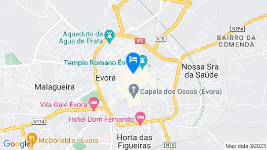 Casa Morgado Esporão Map