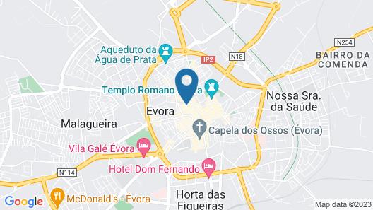 StayInn City - Évora Map