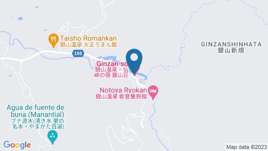Ginzanso Map