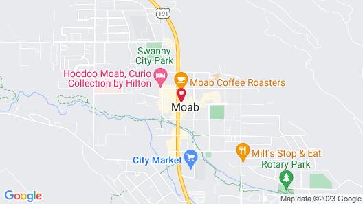 Rim View Moab Map