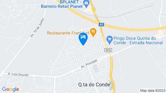 Casa do Limoeiro - Ground floor Map