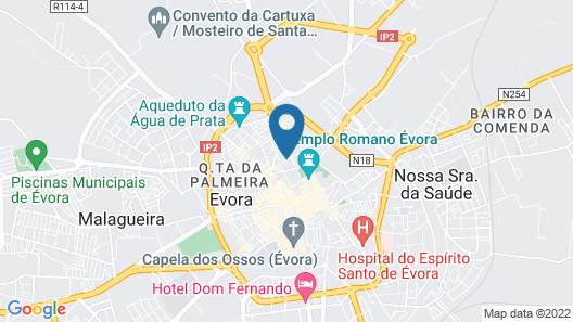 Mouraria Guest House Map