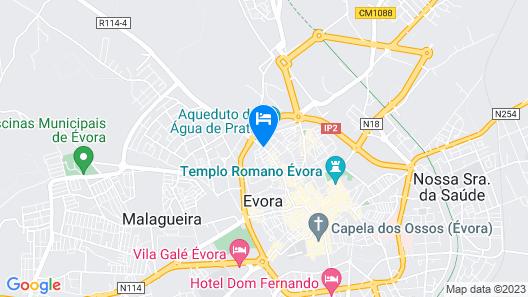 M'AR De AR Aqueduto Map
