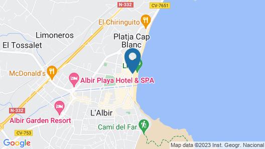 Hotel Kaktus Albir Map