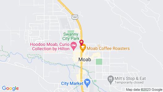 Bowen Motel Map