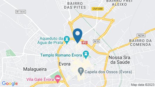 Avis Guest House Map