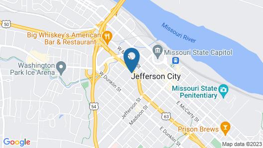 Baymont by Wyndham Jefferson City Map