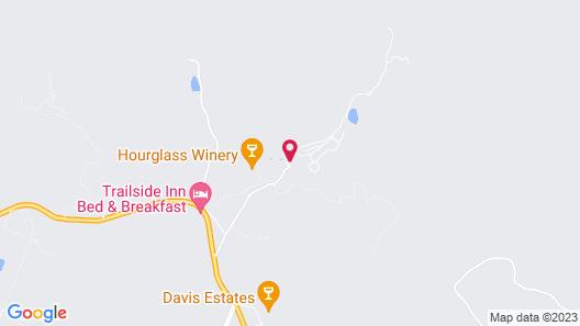Calistoga Ranch Map
