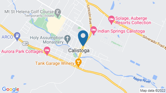 Mount View Hotel & Spa Map