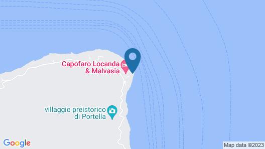 Capofaro Locanda & Malvasia Map