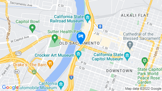 Embassy Suites by Hilton Sacramento - Riverfront Promenade Map