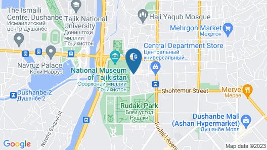 Hotel Shumon Map