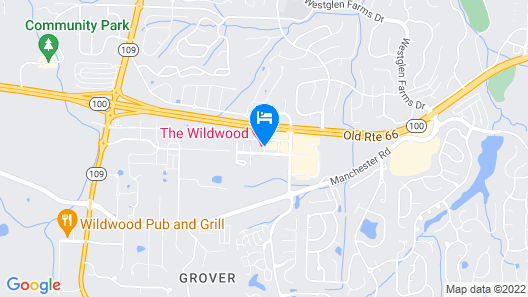 The Wildwood Hotel Map