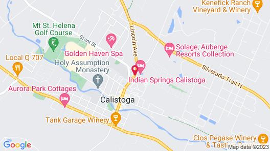 Indian Springs Resort & Spa Map